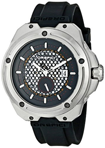 Orefici Unisex ORM15S4702 M15 Analog Display Quartz Black Watch