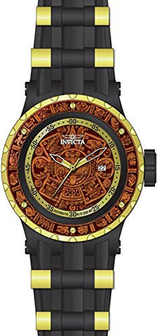 Invicta Men's 26281 Subaqua Automatic 3 Hand Brown Wood Dial Watch