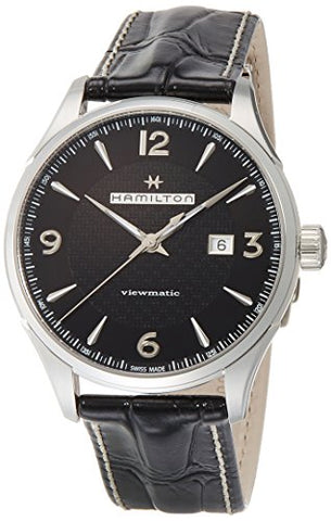 Hamilton JazzMaster Viewmatic Auto Black Mens Watch