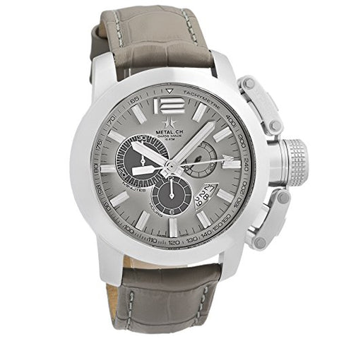 Metal.CH Chronometrie Chrono Series Mens Chronograph Swiss Made Watch 2132.44