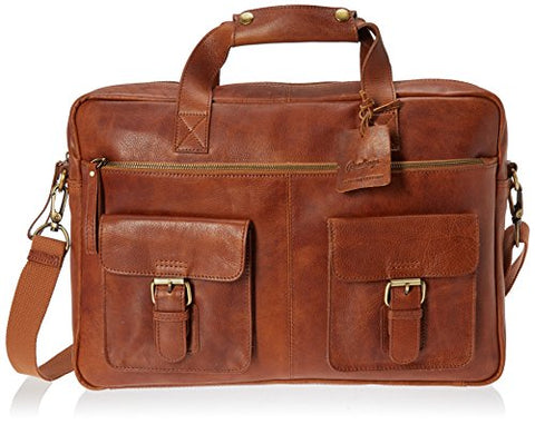 Rawlings Rugged Briefcase, Cognac, One Size