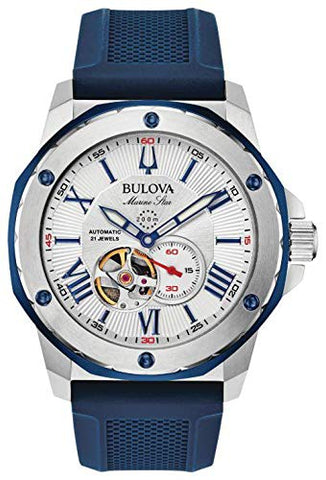 Bulova Men's Marine Star Automatic Watch - 98A225