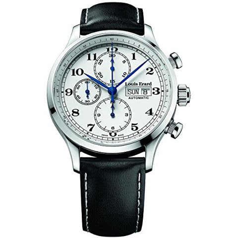 Louis Erard Men's 1931 Limited Edition With Montegrappa Pen 42mm Black Automatic Watch 78225AA01.BVA02