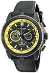 "Citizen Eco-Drive Men's ""Matt Kenseth Ecosphere Limited Edition"" Black Stainless Steel Watch (Model: CA4159-03E)"