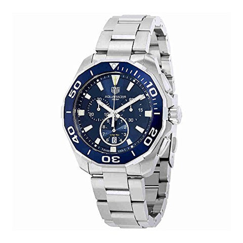 Tag Heuer Watches Tag Heuer Men's Aquaracer Watch (Blue)