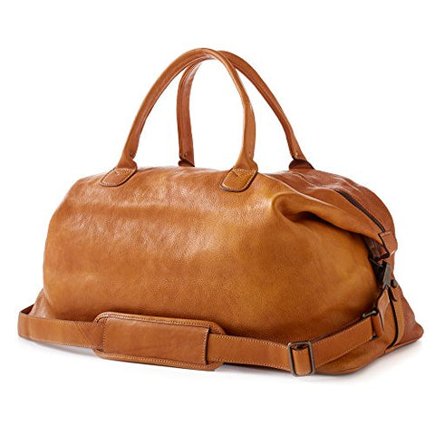 Moore and Giles Benedict Weekend Bag, Modern Saddle