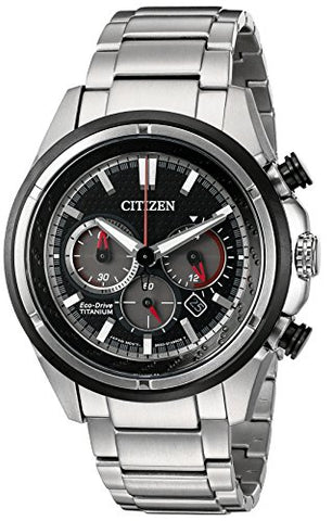 Citizen Eco-Drive Men's CA4240-82E Titanium Watch