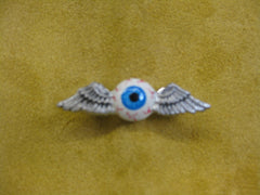 Unkl Ian's Flying Eyeball pin #3