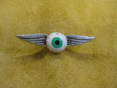 Unkl Ian's Flying Eyeball pin #1