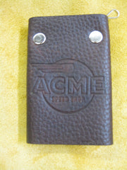 ACME Logo-Leather Key Wallet #1