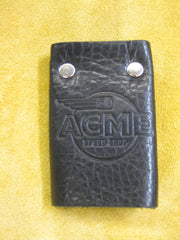 ACME Logo-Leather Key Wallet #2