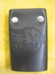 ACME Logo-Leather Key Wallet #3