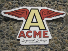 "ACME Flying ""A"" Sticker"