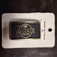 Bronze ACME Belt Bucklet