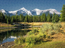 Load image into Gallery viewer, Forgetmenot pond Kananaskis AB - Puzzle