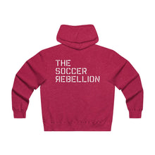 Load image into Gallery viewer, The Soccer Rebellion Zip-up Hoodie