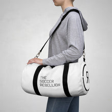 Load image into Gallery viewer, The Soccer Rebellion Duffle Bag