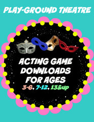 Acting Game Downloads For Preschool, Elementary, and Teens