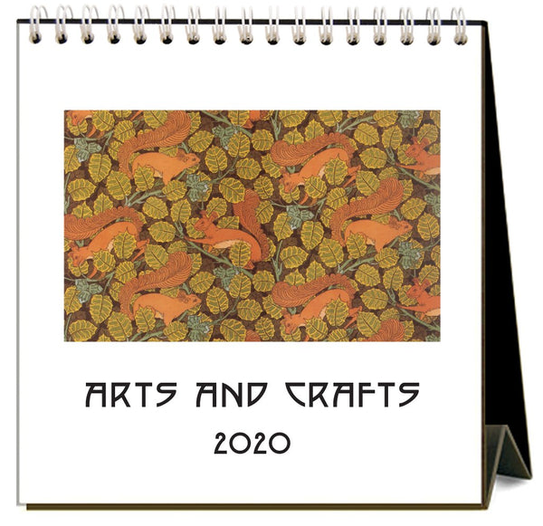 Arts and Crafts 2020 Calendar