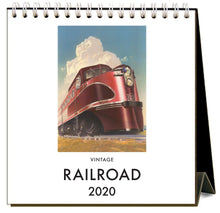 Load image into Gallery viewer, Railroad 2020 Calendar