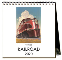Railroad 2020 Calendar