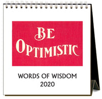 Words of Wisdom 2020 Calendar
