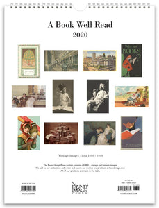 A Book Well Read 2020 Wall Calendar