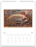 Mermaids 2020 Wall Calendar