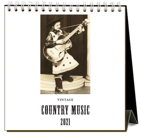 Country Music 2021 Calendar