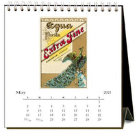 Peacocks 2021 Calendar