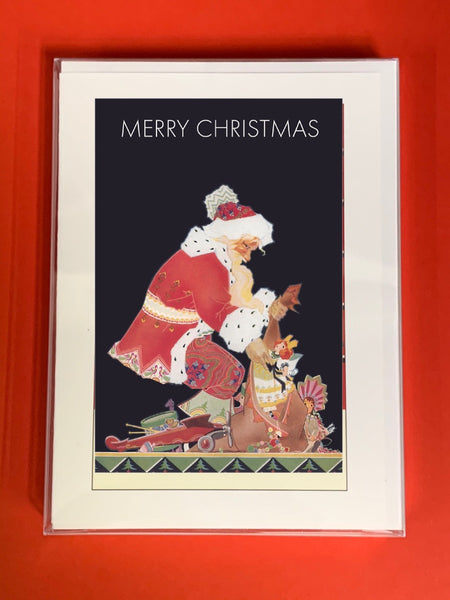 Merry Christmas Santa Claus - Boxed Note Cards