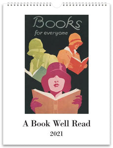 A Book Well Read 2021 Wall Calendar