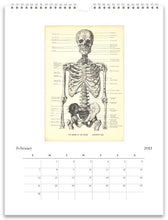 Load image into Gallery viewer, Anatomy 2021 Wall Calendar