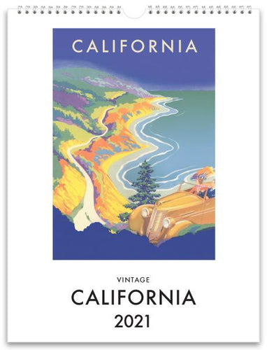 California 2021 Wall Calendar