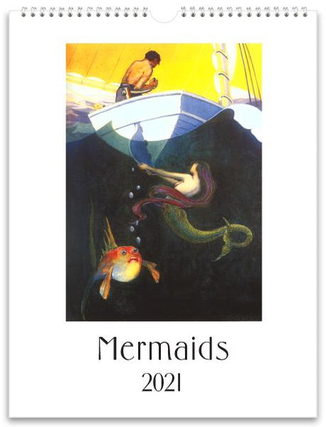 Mermaids 2021 Wall Calendar