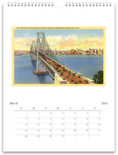 Load image into Gallery viewer, San Francisco 2021 Wall Calendar