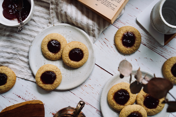 Low FODMAP Jam Drops Using The LoFo Pantry Plain Flour