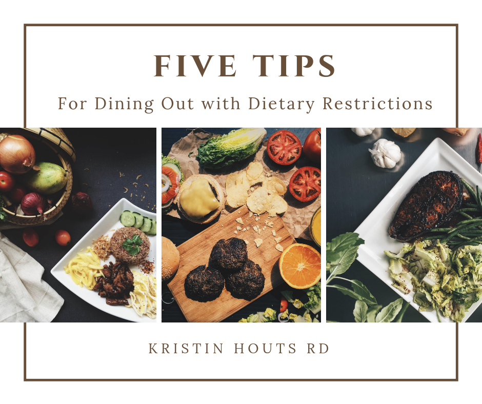 Five Tips for Dining Out with Dietary Restrictions
