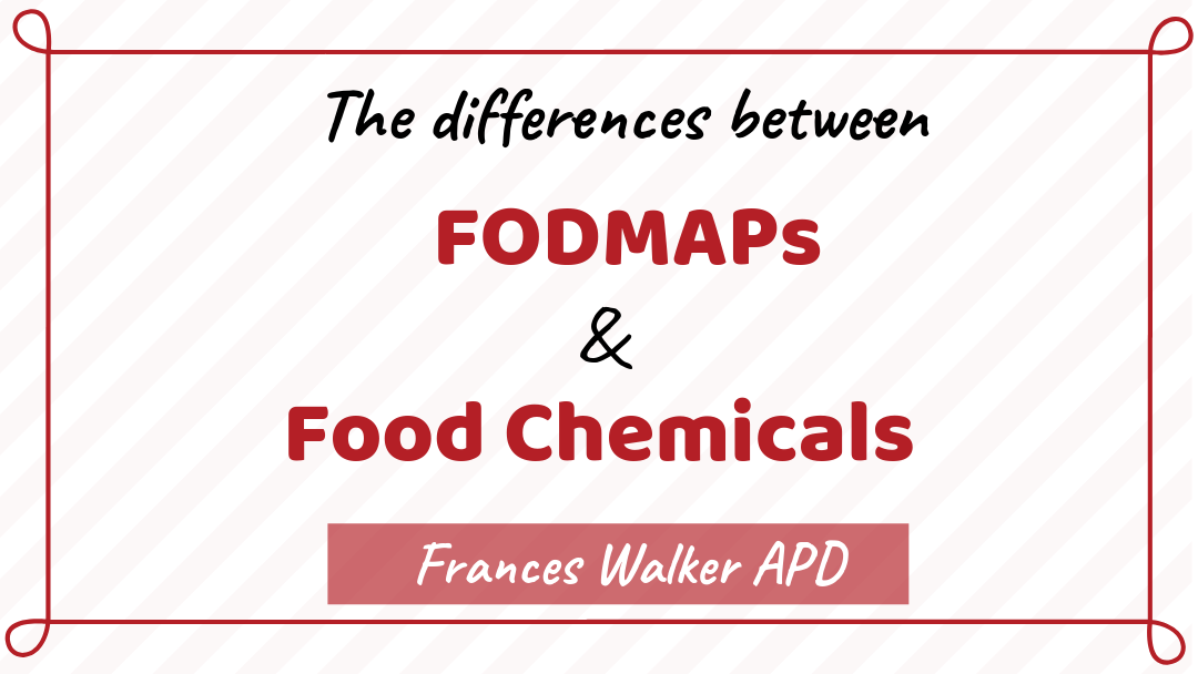 Exploring the Differences Between FODMAPs & Food Chemicals
