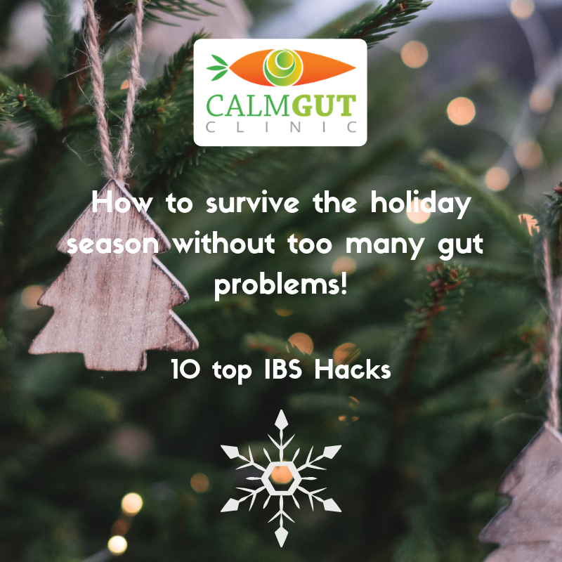 How to Survive the Holiday Season Without Too Many Gut Problems