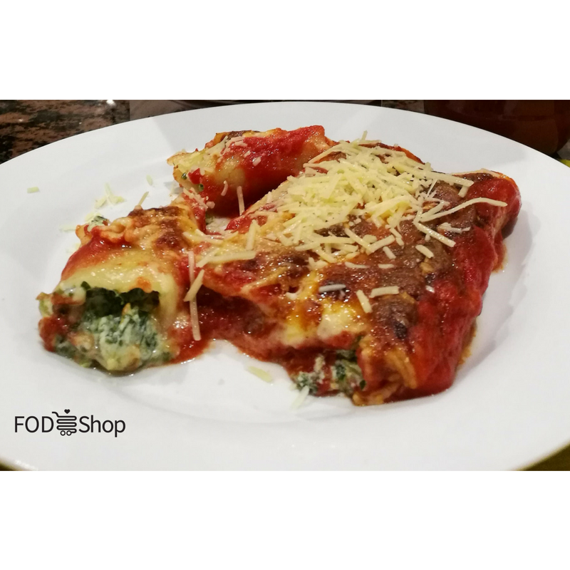 Our Favourite FODMAP Friendly Canneloni Recipe