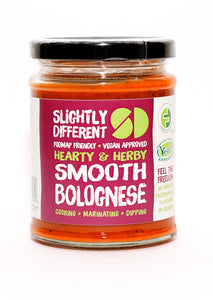 Slightly Different Foods Hearty & Herby Smooth Bolognese (260g) - Australia & NZ Only