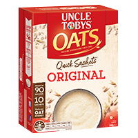 Uncle Toby's Quick Sachets - Original (340g)