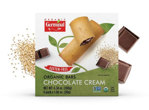 Germinal Organic Chocolate Cream Bars (6 Pack, 180g)