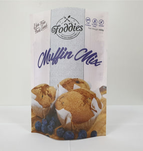 Foddies Muffin Mix - Plain (460g)