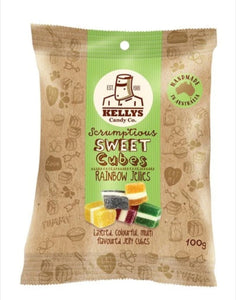 Kellys Candy Co Snack Pack Rainbow Jellies (100g)