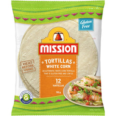 Mission Corn Tortillas (12pk, 312g)