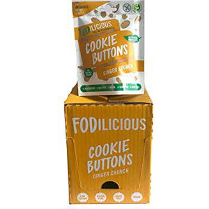 Fodilicious Cookie Buttons - Ginger Crunch