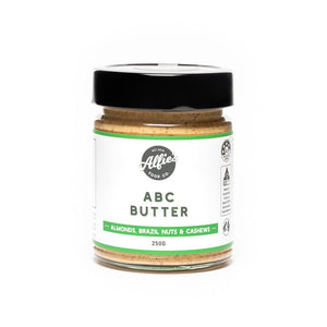 Alfie's Food Co. Almond, Brazil & Cashew (ABC) Butter (250g)