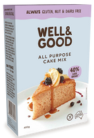 Well & Good All Purpose Cake Mix (400g)